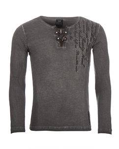 Rusty Neal Situation Longsleeve Anthracite
