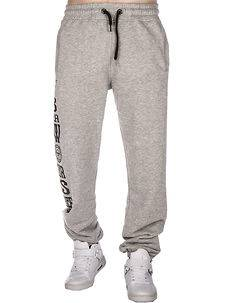 Yakuza Ink Blow It Out Joggers Grey Melange