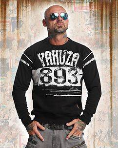 Yakuza Ink Yent Jumper Black