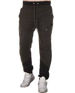 MZ72 Brand Jays Sweatpants Dark Green/Black
