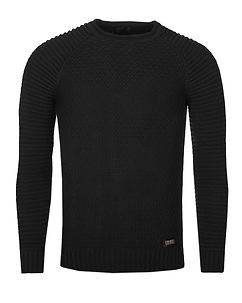 Rusty Neal Cobains Fine Knit Black