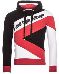 Rusty Neal Radcliff Hoodie Black/Red/White