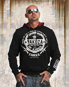 Yakuza Ink Trade Of Kings Hoodie Black