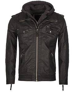 Brandit Black Rock Hooded Jacket Black