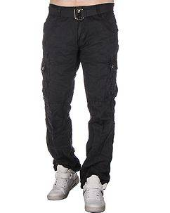 Highness Westby Cargo Trousers Grey