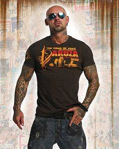 Yakuza Ink Havoc T-Shirt Brown