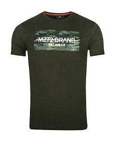 MZ72 Brand The Peak T-Shirt Dark Green