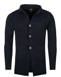 Carisma Deming Knit Cardigan Navy