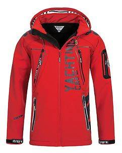 Geographical Norway Toublerona Softshell Jacket Red