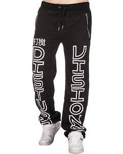 Disturb Clothing Visions Sweat Pants Black
