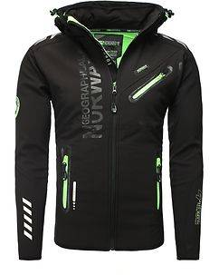 Geographical Norway Richier Softshell Jacket Black