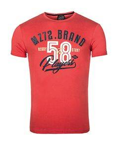 MZ72 Brand The Phil T-Shirt Red
