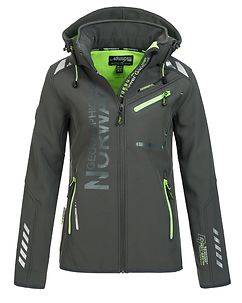 Geographical Norway Reveuse Softshell Dark Grey