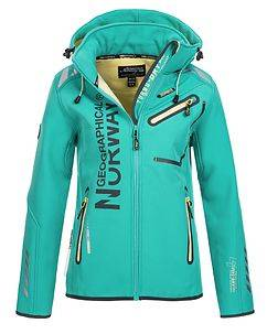 Geographical Norway Reveuse Softshell Turquoise