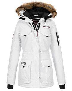 Geographical Norway Alcatras Parka White