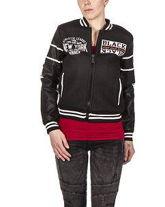 Cipo & Baxx Ladies Lexy College Jacket Black
