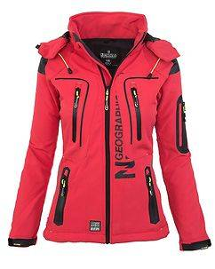 Geographical Norway Tislande Softshell Red