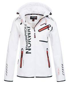 Geographical Norway Reveuse Softshell White