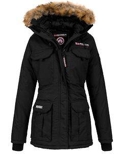 Geographical Norway Alcatras Parka Black