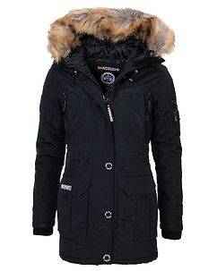 Geographical Norway Airline Parka Black