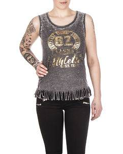 Cipo & Baxx Ladies Sharyl Top Anthracite