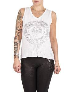 Yakuza Ink Soldier Top White