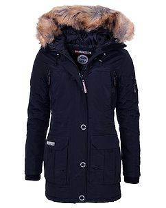 Geographical Norway Airline Parka Navy
