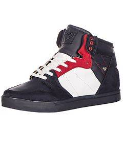 CASH MONEY Floyd Star Sneakers Navy/Red
