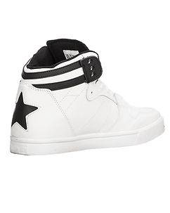 CASH MONEY Django Star Sneakers White/Black