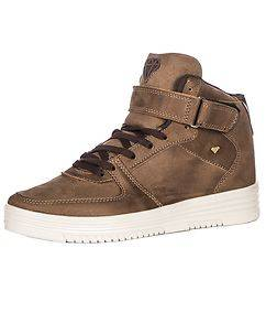CASH MONEY Devlin Sneakers Brown Suede