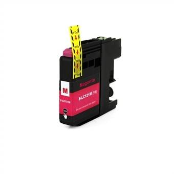 Brother Mustepatruuna Brother LC121M - Magenta