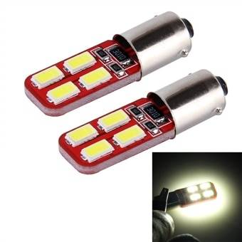 LED-Lamppu BA9S 3W 200lm 6000K 8 SMD-5730 Canbus