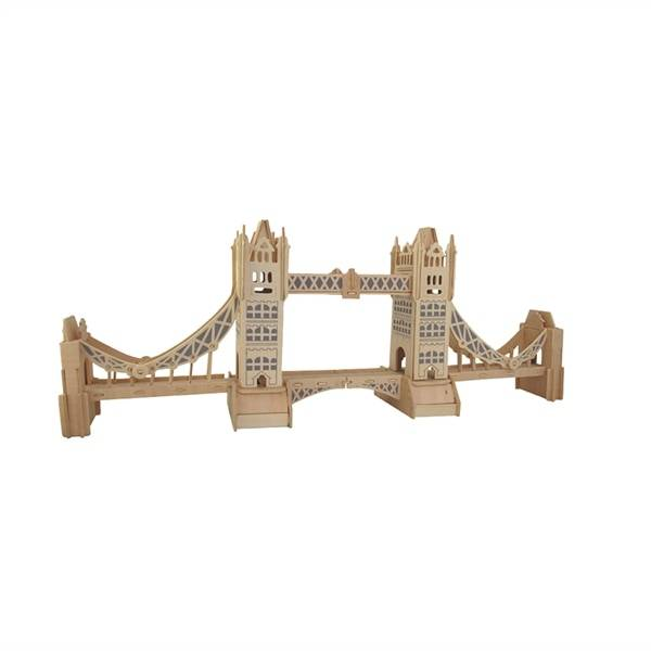 Malli 3D-Palapeli puuta - Tower Bridge