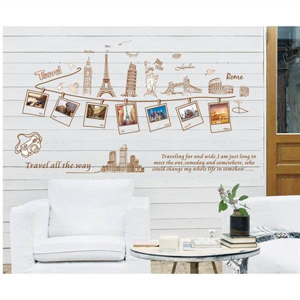 Seinätarra / wall stickers - Travel