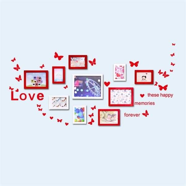 Seinätarra / wall stickers - LOVE