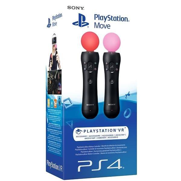 Sony Playstation Move Motion (PS3/PS4) - Twin Pack
