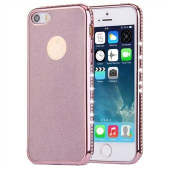 Apple Timanttikuori iPhone SE & 5s & 5 Rose Gold