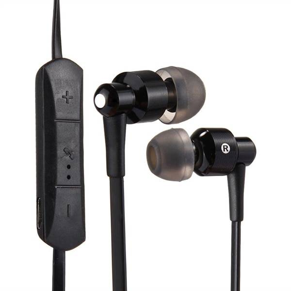 Langattomat In-Ear kuulokkeet remote & mikrofonilla - Bluetooth