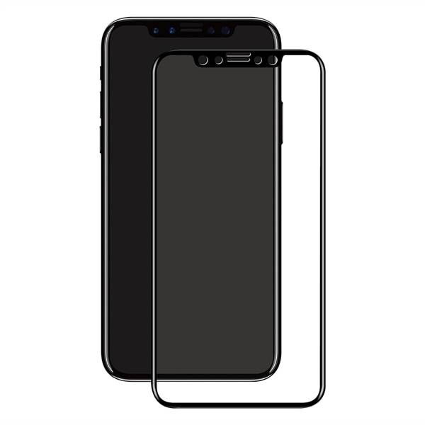 Apple Eiger 3D Screen Protector Glass iPhone X/XS Clear/Black