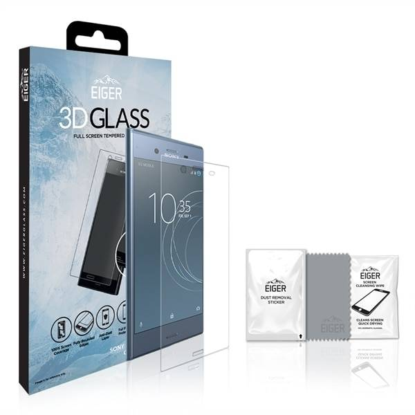 Sony Eiger 3D Screen Protector Glass Sony XZ1 Clear