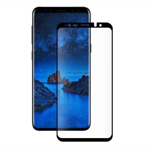 Samsung Eiger 3D CF Screen Protector Glass Samsung S9+ Clear/Black