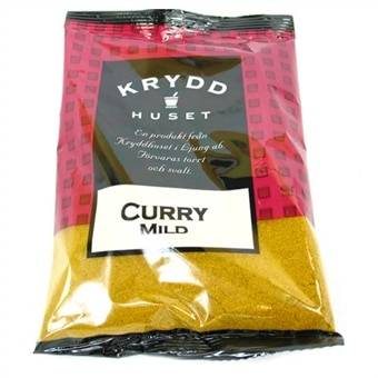 Iso pussi Curry 100Gram