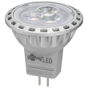 LED-Lamppu GU4 2W MR11 2800K 170Lm