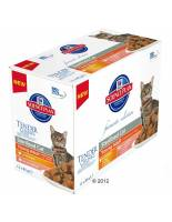 Hill's Science Plan Hill's Feline Young Adult Sterilised 12 x 85 g - Adult Sterilised Chicken + Salmon
