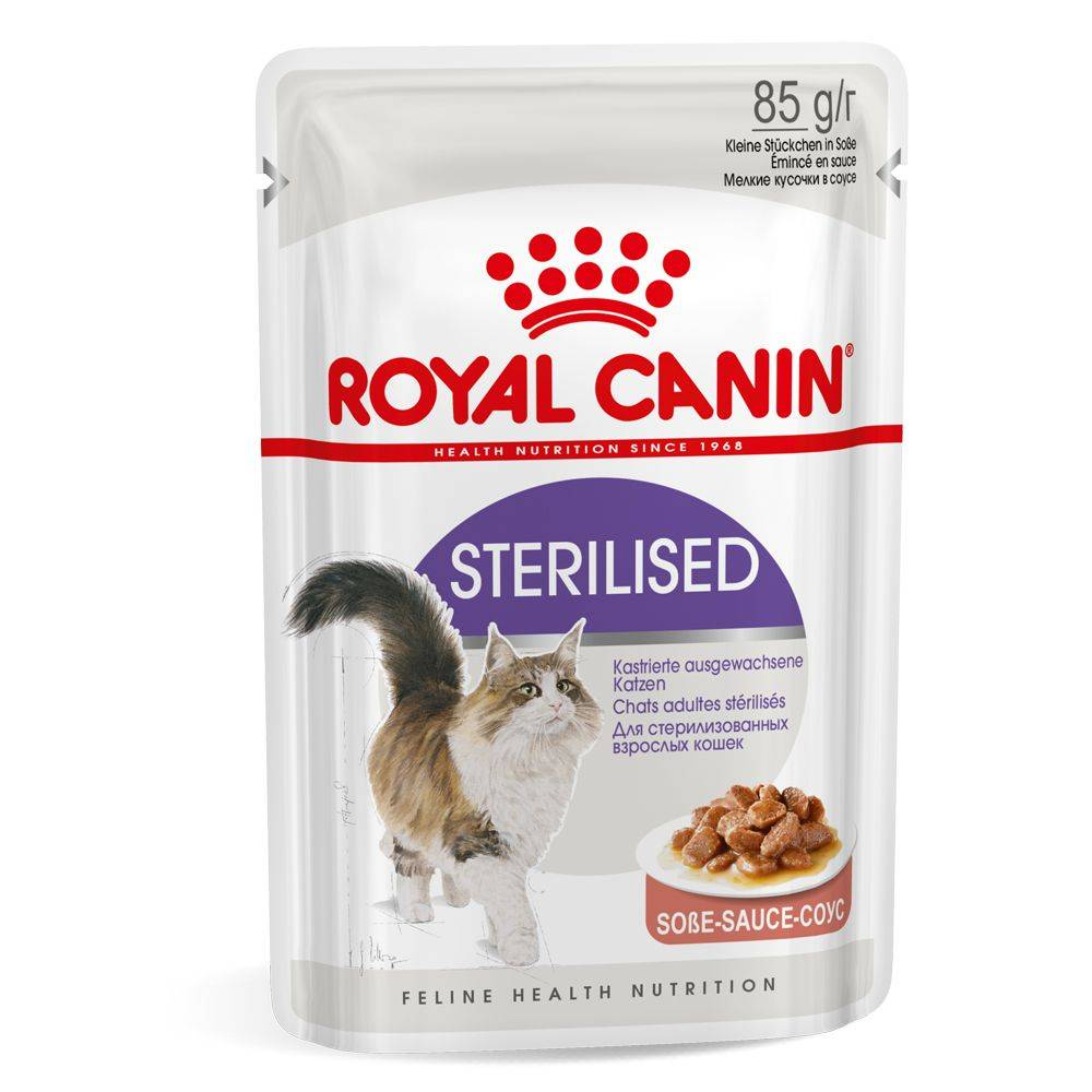 Royal Canin Sterilised in Gravy - 48 x 85 g