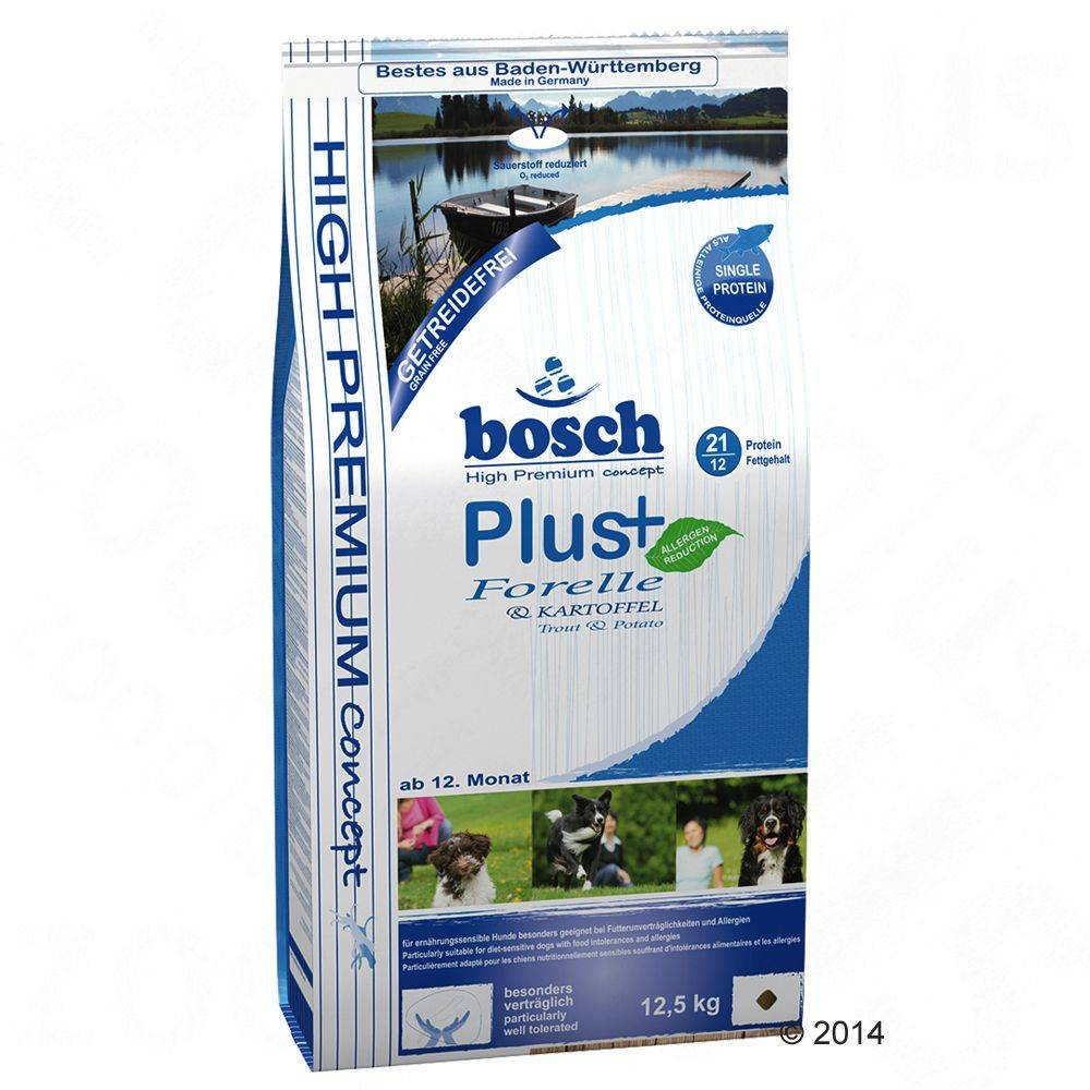 Bosch HPC Plus Trout & Potato - 12,5 kg