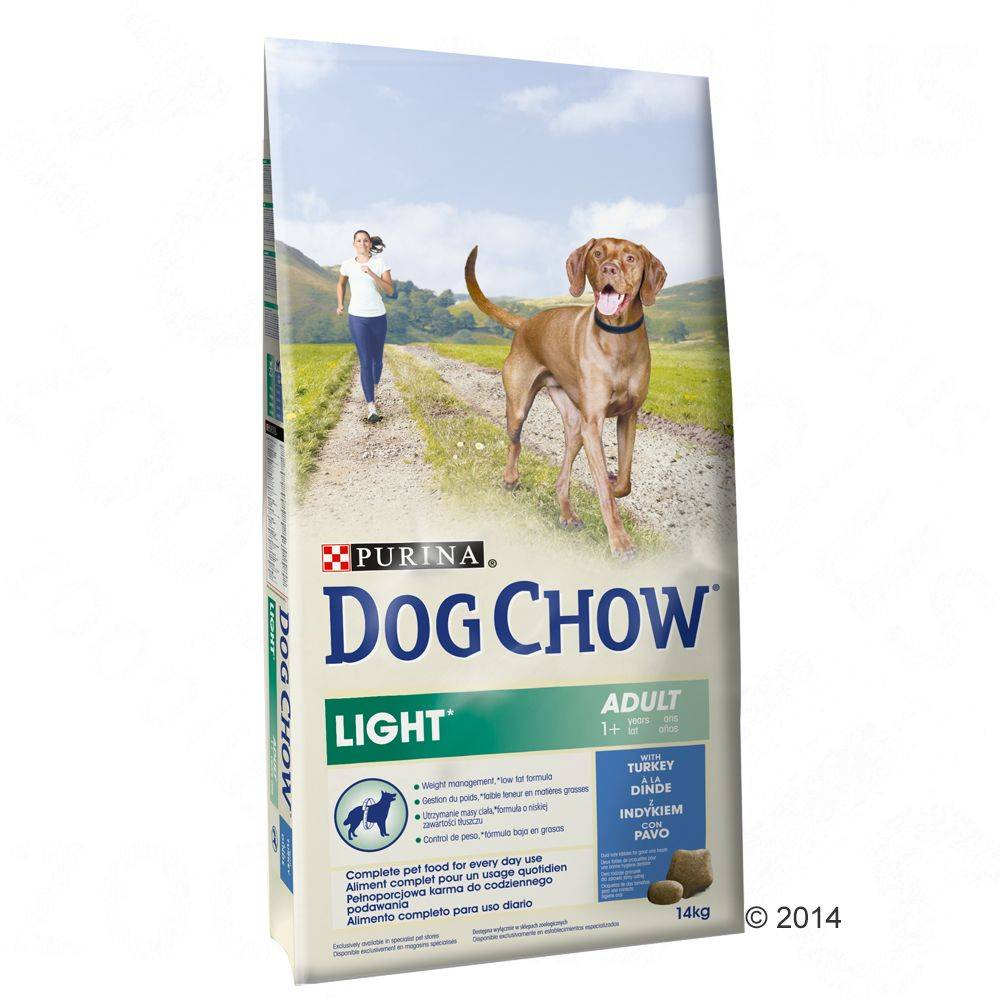 Dog Chow Purina Dog Chow Adult Light Turkey - 2 x 14 kg