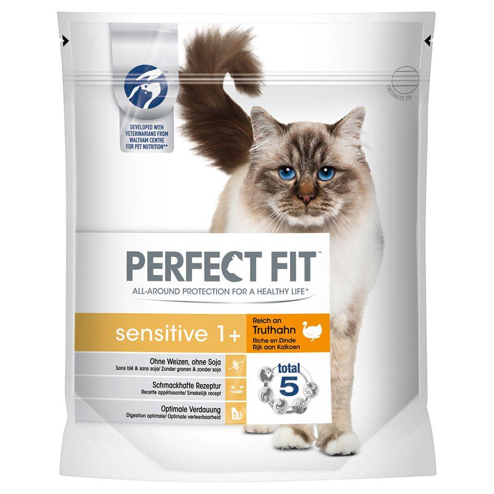 Perfect Fit Sensitive 1+ Rich in Turkey - 1,4 kg