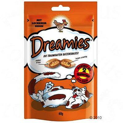 Dreamies kissanherkut 60 g - tonnikala (60 g)