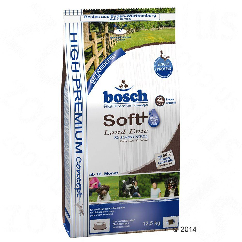 Bosch HPC Soft Duck & Potato - 12,5 kg